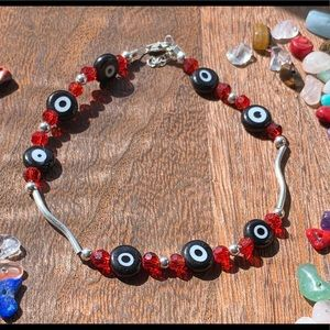 925 Sterling Silver Bracelet With Turkish Eye